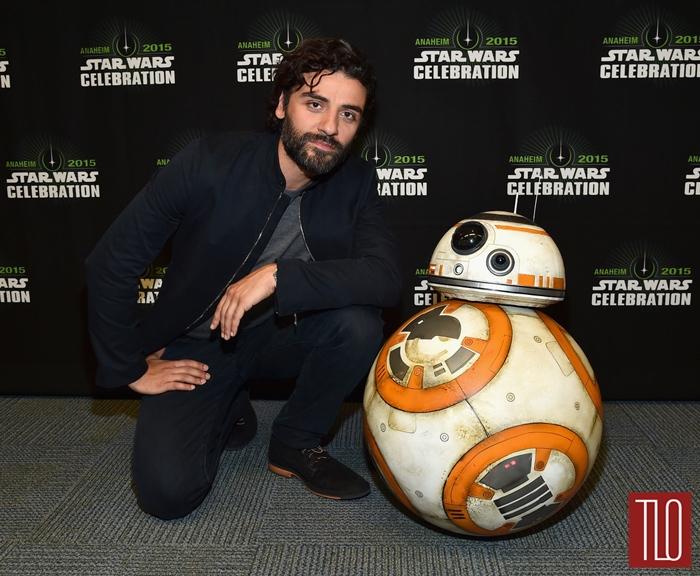 Oscar Isaac At 2015 Star Wars Celebration Tom Lorenzo
