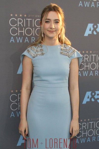 Saoirse Ronan in Antonio Berardi at the Critics' Choice ...