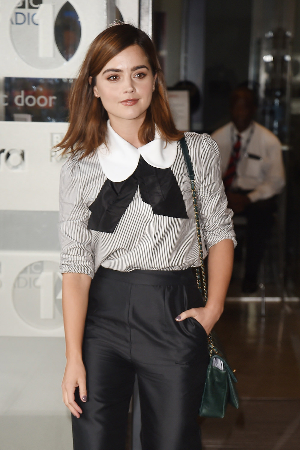Fall In New England Wallpaper Jenna Coleman In Isa Arfen At The Bbc Radio One Studios