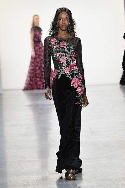 New York Fashion Week: Tadashi Shoji Fall 2019 Collection ...