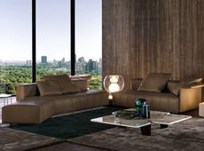 Tufty Time Leather Sofa B B Italia Tomassini Arredamenti - Divano Flexform Status