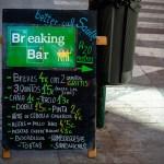 Breaking Bar