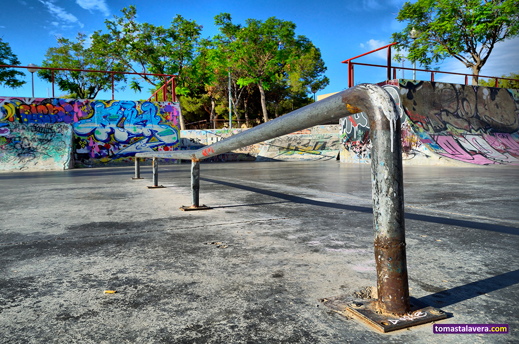 Skatepark del Monte Tossal (III) #Alicante