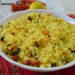 Carrot Lemon Rice- Lunchbox Special