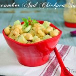 Cucumber Chickpeas Salad Recipe | Easy Salad Recipes