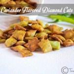 Coriander Diamond Cuts Recipe| Diwali Snack Recipes
