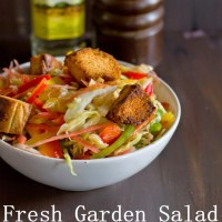 Fresh Garden Salad Recipe| Salad Recipes