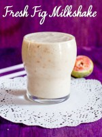 Fresh Fig Milkshake Recipe