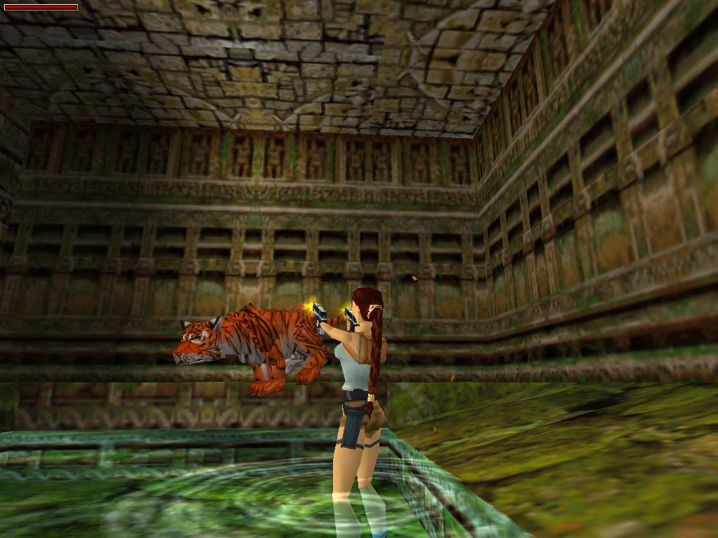 Web Games Katie's Tomb Raider Screenshots -- Tomb Raider 3 Screenshots