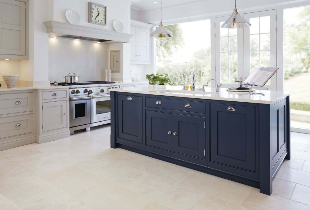 Painted Vs Stained Kitchen Cabinets Black And Grey Kitchen | Black Painted Kitchen | Tom Howley