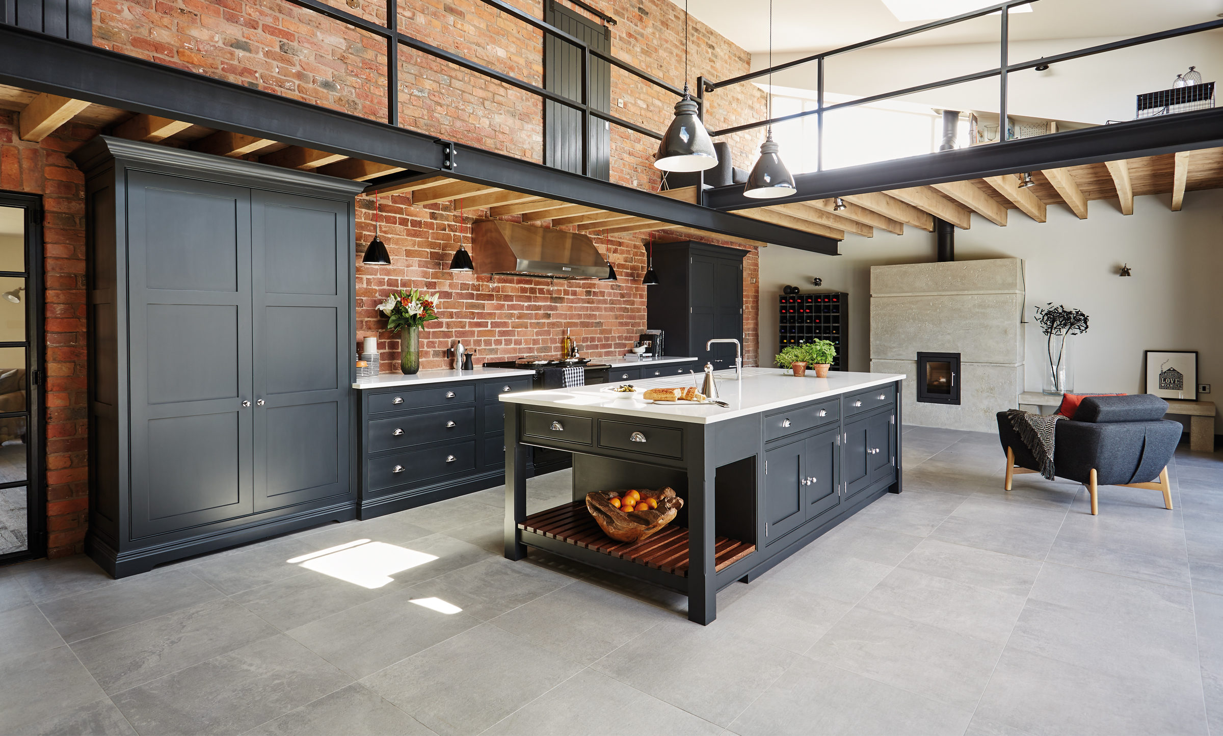 Küche Industrial Design Bespoke Kitchens Luxury Kitchen Designers Tom Howley