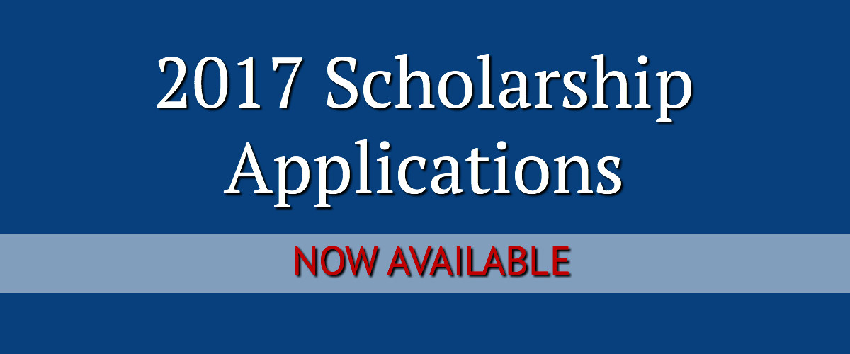 2017 scholarship applications available