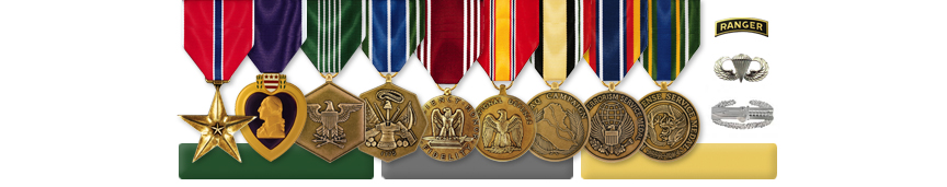 Tom's Awards and Medals