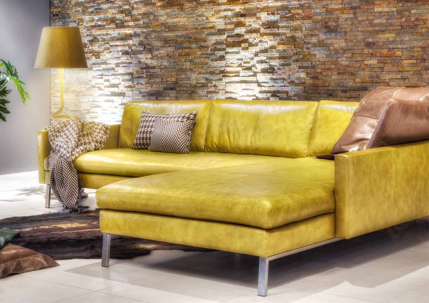 Yellow Möbel Recamiere Sofa Buster Tommy M