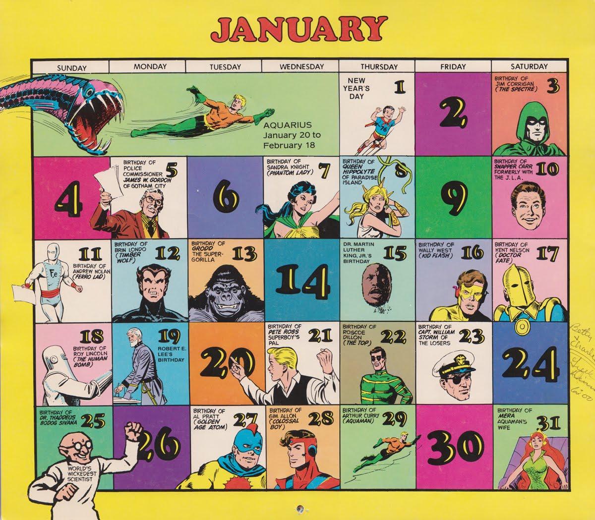 January Calendar Cards Academic Calendar Valencia College Super Dc Calendar 1976 Tommy Topps