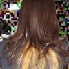 インナーカラーを隠して結ぶヘアスタイルをご紹介!