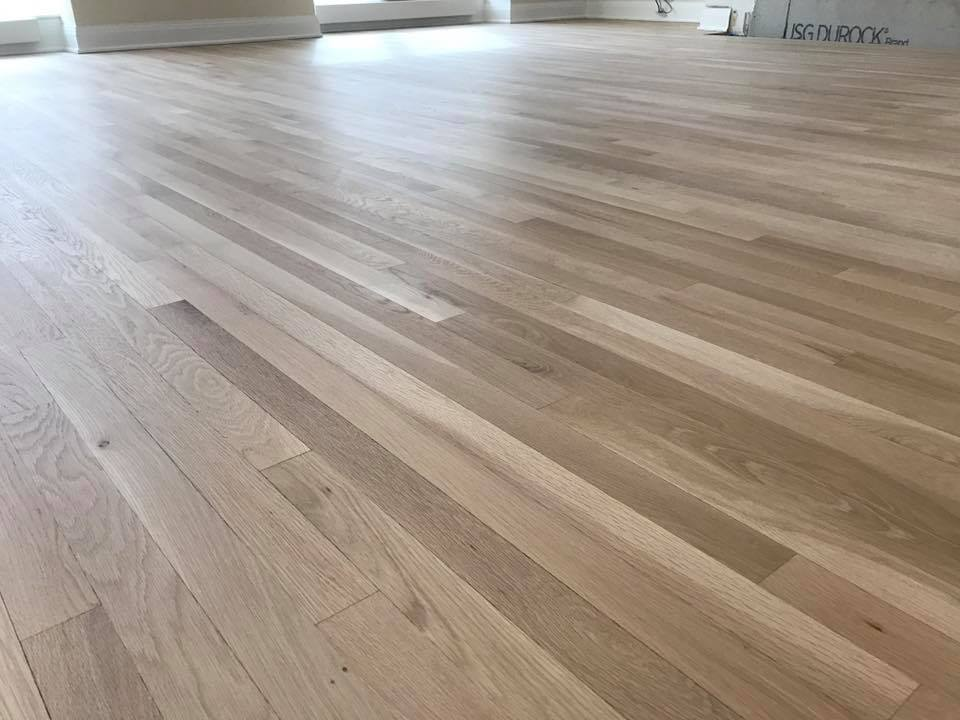 Parquet Color Chicago Refinishing Hardwood Floor - Tom & Peter Flooring