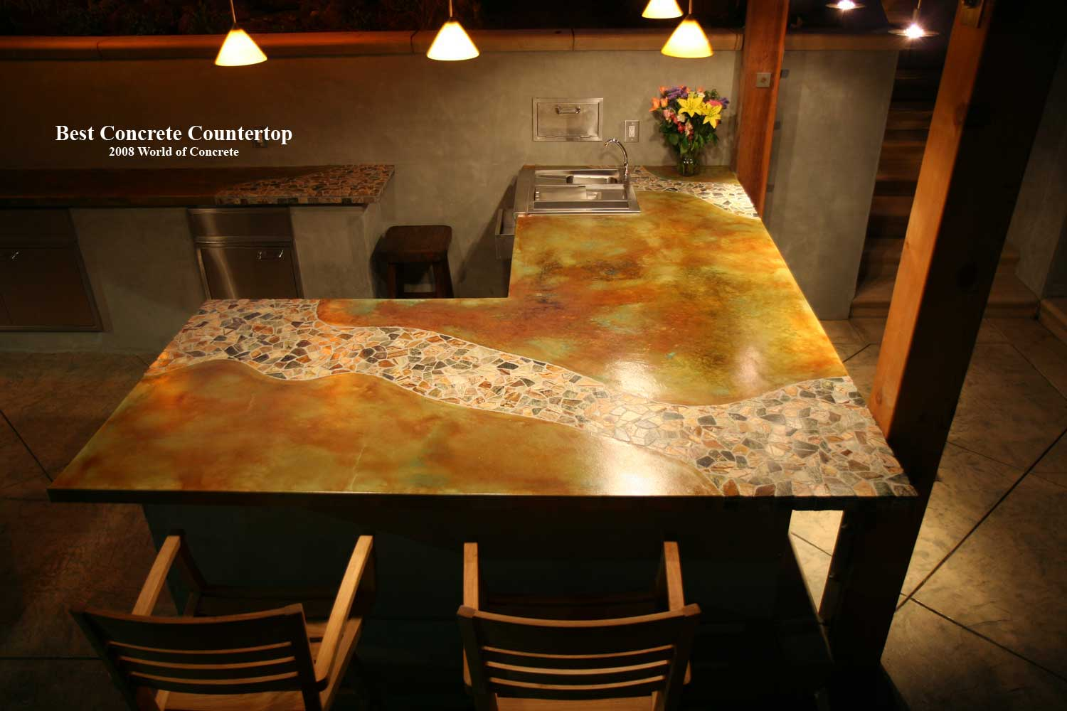 Concrete Countertops Book Magid Countertops Tom Ralston Concrete
