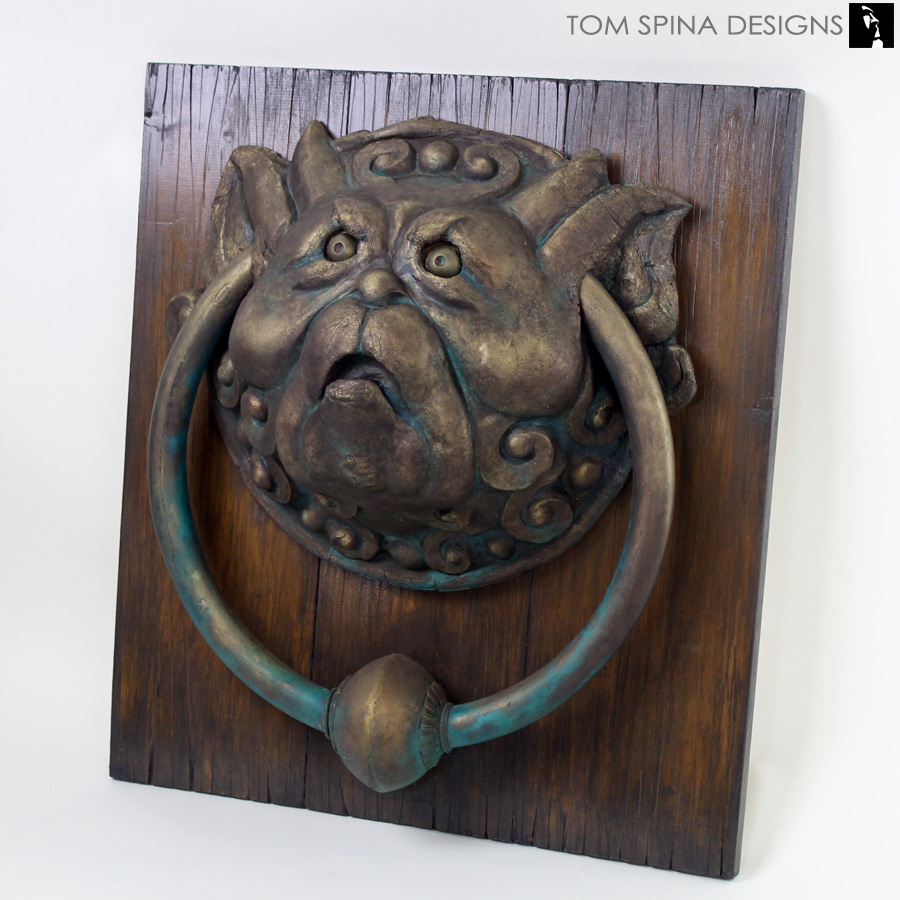 Turtle Door Knocker Labyrinth Door Knockers Original Foam Latex Prop Restoration Tom