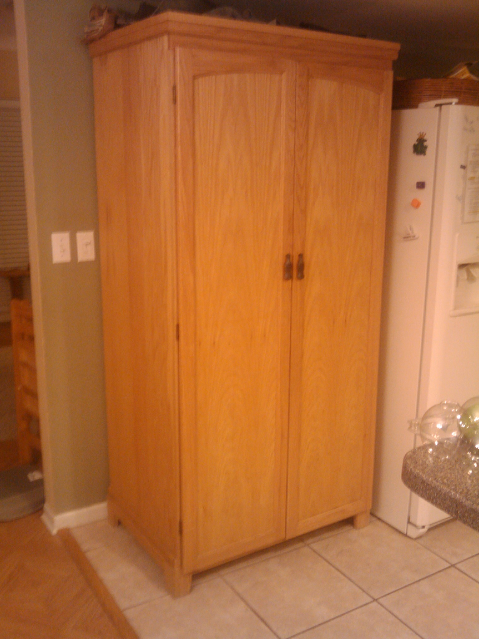 Wooden Kitchen Cabinet Doors Nz Pantry Cabinet: Freestanding Pantry Cabinets With Kitchen