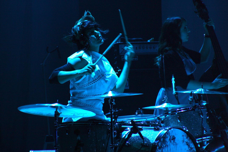 Drum Set Wallpaper Hd Jack White Interviews Carla Azar Tom Tom Magazine
