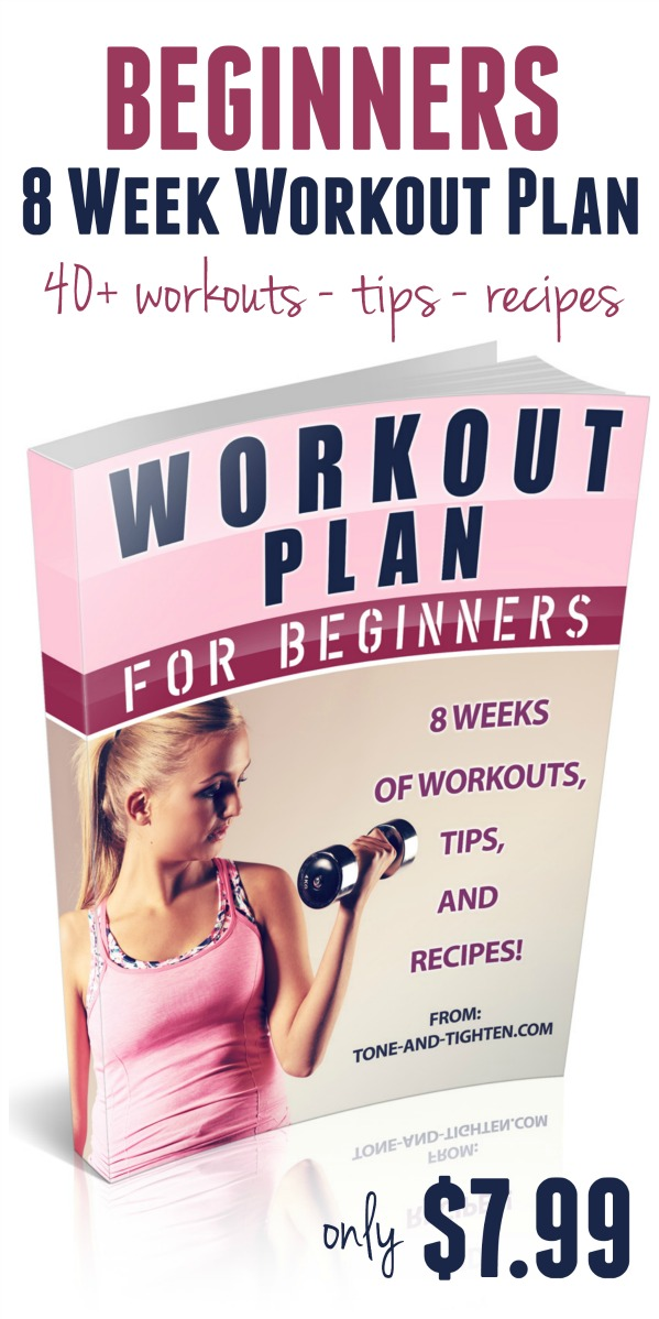 Tone and Tightenu0027s 8-Week Workout Guide for Beginners Tone and - performance improvement plan definition