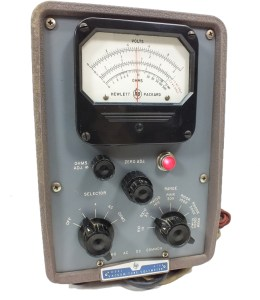 hewlett-packard-model-410b-vacuum-tube-voltmeter--a83
