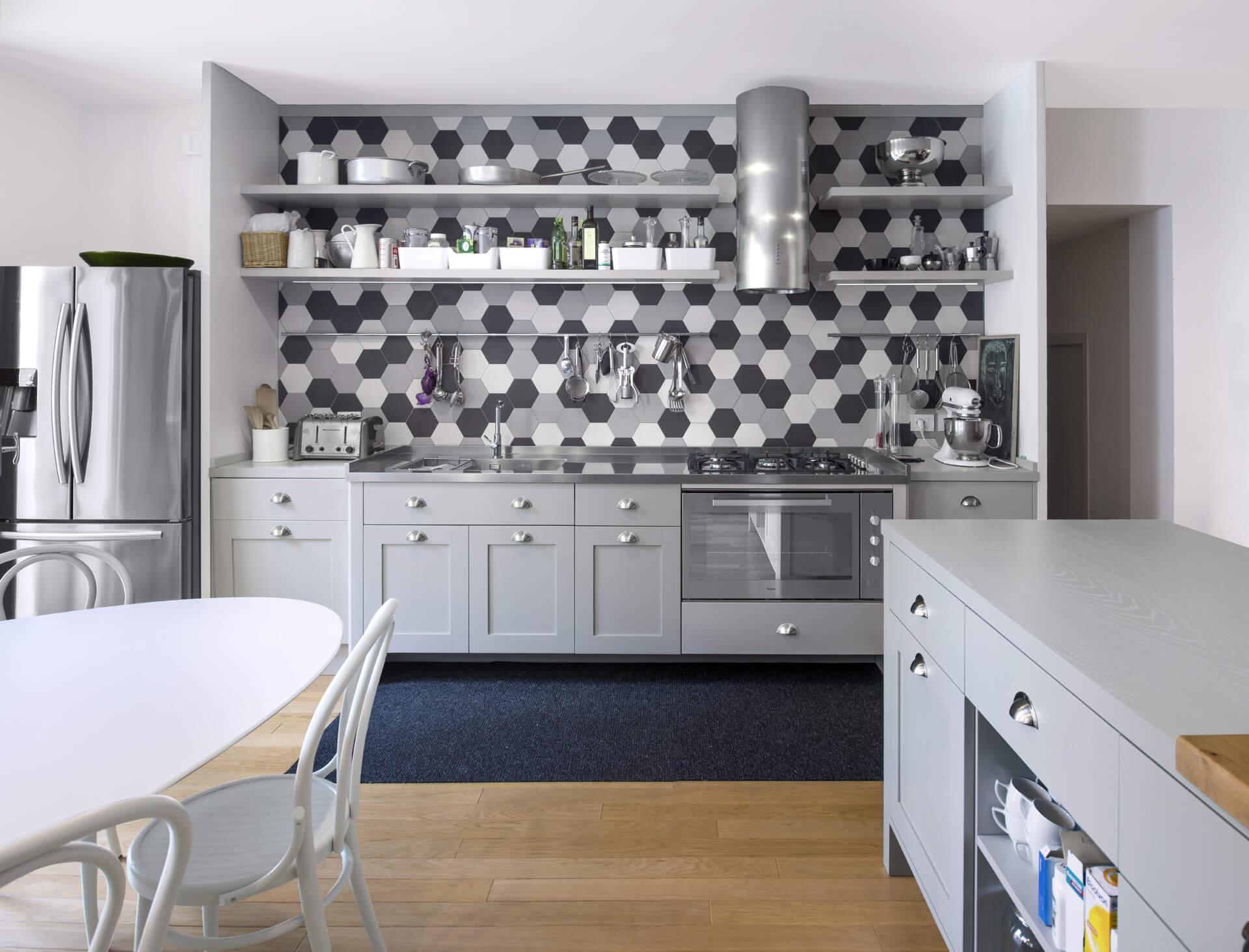 Mobili Contemporanei Cucina : Cucina contemporanea tortora arredamento cucine ardea pomezia