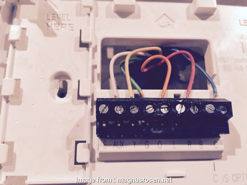 Honeywell Thermostat Wiring Diagram 6 Wire Nice Honeywell Thermostat