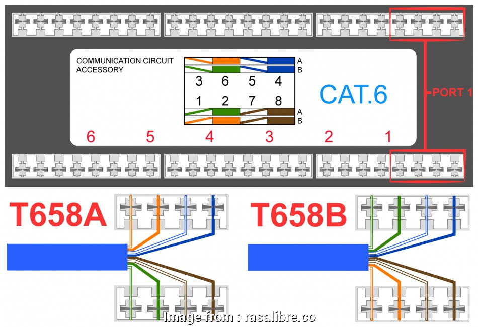 Cat 6 Wiring Diagram Wires - Explained Wiring Diagram