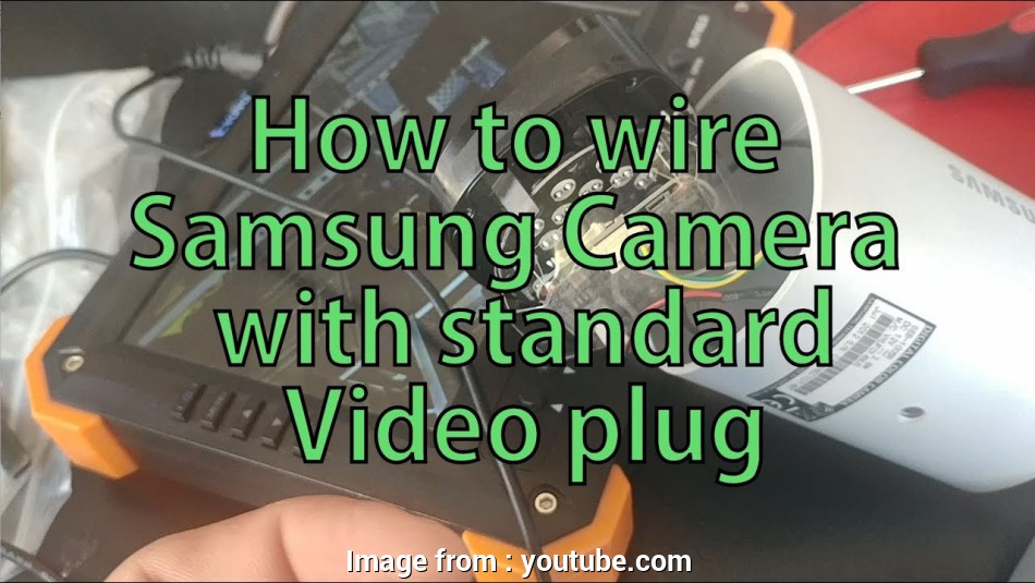 Rj45 To, Wiring Diagram Best How To Re-Wire Samsung Camera RJ-45 To