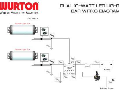 14 Gauge Wire, Light Bar Most Led, Wiring Diagram, To Wire Light