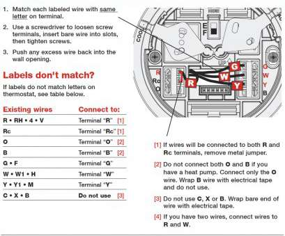 2 Wire Thermostat Wiring Diagram Simple Honeywell Thermostat Wiring