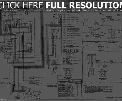 11 Most American Standard Thermostat Wiring Diagram Images - Tone Tastic