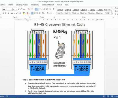 Wiring Diagram For Rj45 Crossover Cable Wiring Diagram