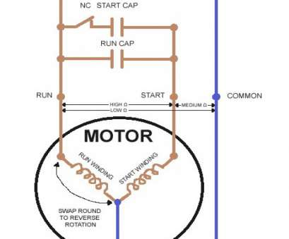 Ac Capacitor Wiring Color Wiring Diagram