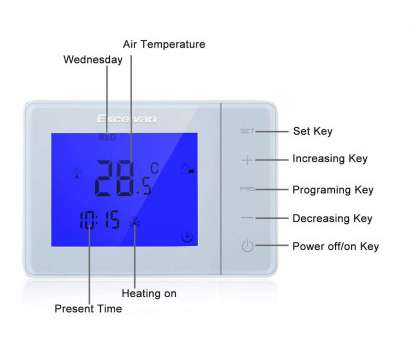 Excelvan Thermostat Wiring Diagram Best How To Wire A Thermostat, A