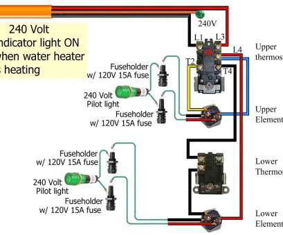 Water Heater 240v Wiring Diagram circuit diagram template