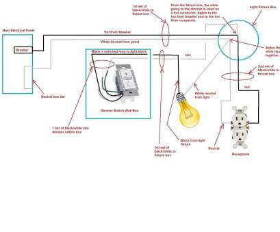 How To Wire A, Gang, Way Light Switch Popular Great 2 Gang Light