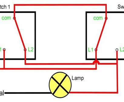 How To Wire A Light On, Switches Best Wiring Diagram Ceiling, With