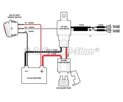 How To Wire A, Light, Without Relay Perfect Wiring Diagram, Led