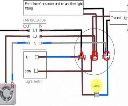 How To Wire A Vanity Light Switch Brilliant Bathroom Light, Exhaust