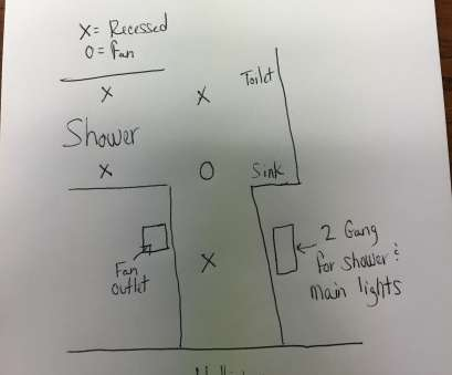 How To Wire A Vanity Light Switch Brilliant Vanity Light With