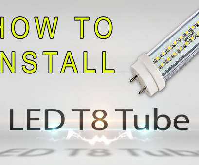How To Wire, Foot, Light Practical 8, T8/T12, Equivalent Cool White
