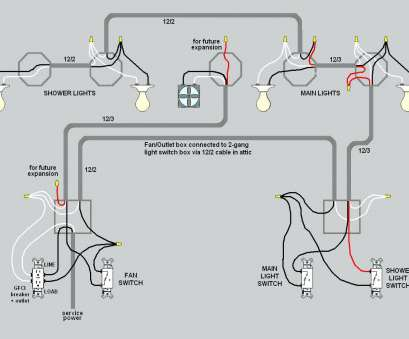 Light Switch Wiring, Switches Nice Wiring Diagram Three Lights