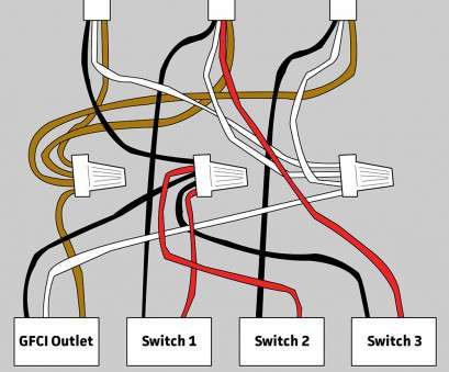Single Gfci Outlet Wiring Diagram Most Wiring Diagram, Switches