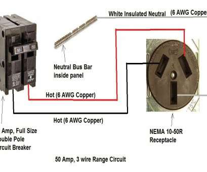 Wire Size 50, Rv Outlet Nice New 50, Rv Plug Wiring Diagram