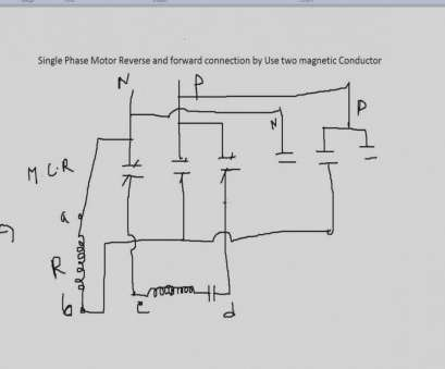 Wiring A Motor Reverse Switch Creative Help Wiring A Single Phase