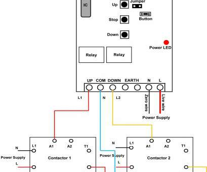 Wiring A Switch Contactor Practical Time Clock, Contactor Wiring