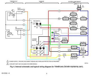 Wiring Diagram Of Thermostat Brilliant Two Wire Thermostat Wiring